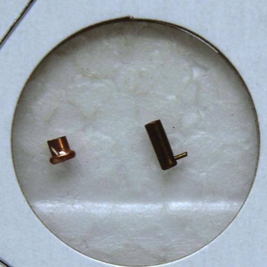 2 mm Blank Rim Fire and 2 mm Pin Fire Collector Cartridges
