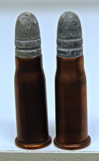 2 UMC .41 Swiss Rim Fire Collector Cartridges