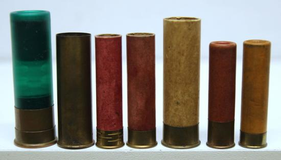 Collectible Shotshells Mixed - Remington 8 Ga. Industrial, Rem UMC Best 12 Ga. Empty All Brass, UMC
