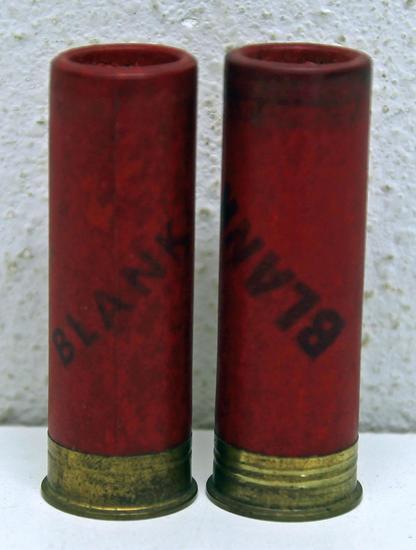 2 Different Winchester Ranger Blank 12 Ga. Collectible Paper Shotshells