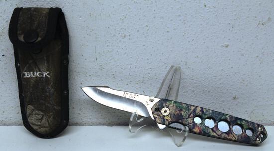 Buck No. 183 Folding Knife and Tool with Nylon Sheath