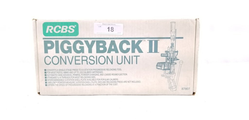 Rcbs Piggyback Ii Conversion Kit Nos | Firearms & Military