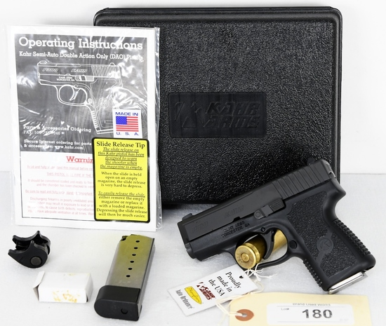 Brand New Kahr PM9 Semi Auto Pistol 9MM   Firearms