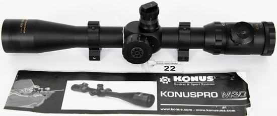 Konus Konuspro M30 4.5-16X40 Scope