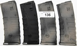 Lot of 4 EMA CD AR-15 30 Rd. Mags W/ Round Counter