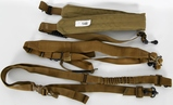 Lot of 3 Tactical Slings Misc. W/ Red QD