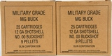 Lot of 50 Winchester MG Buck 12 Ga. Shotshells