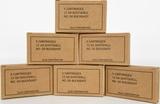 6 Boxes of Olin Military Grade 12 Ga. No. 00 Buck