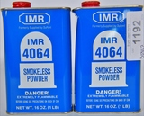 Lot of 2 IMR 4064 Smokeless Powder NEW