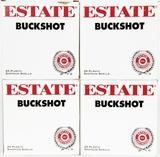 100 Estate Shotshells 12 Ga. 00 Buckshot 2 3/4