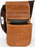 Aguila Leather Shotshell Pouch 2 compartment