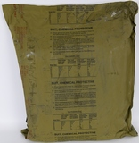 NEW in Sealed Bag US Military Chemical Protective