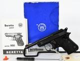 BRAND NEW Beretta BS950 Jetfire Pistol .22 Short!