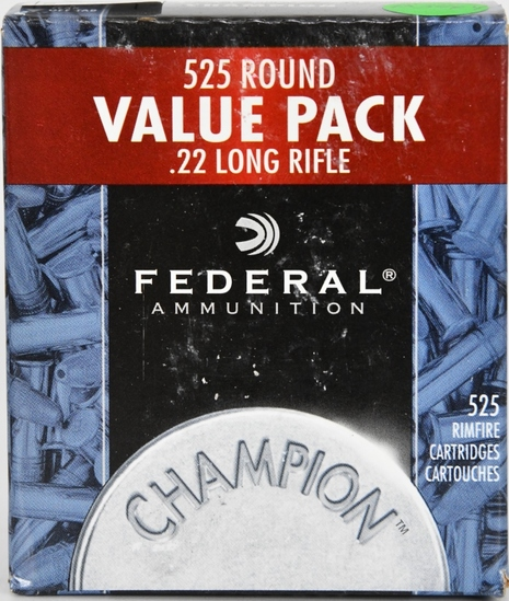 525 RDS OF FEDERAL CHAMPION .22 LR BRICK