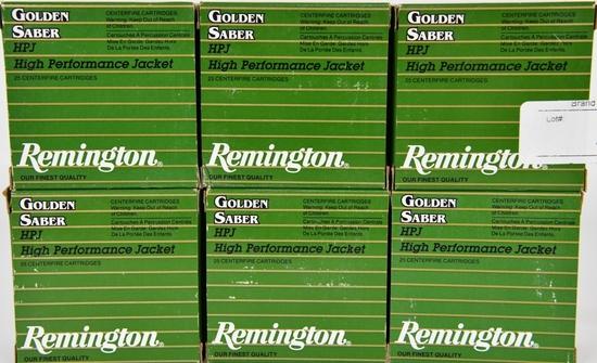 150 RDS OF REMINGTON .357 MAGNUM GOLDEN SABER