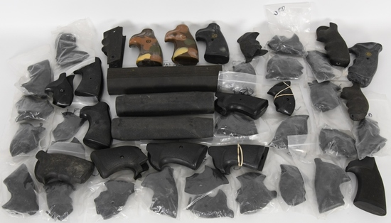 Lot of 40 Rubber grips and 2 shotgun forends