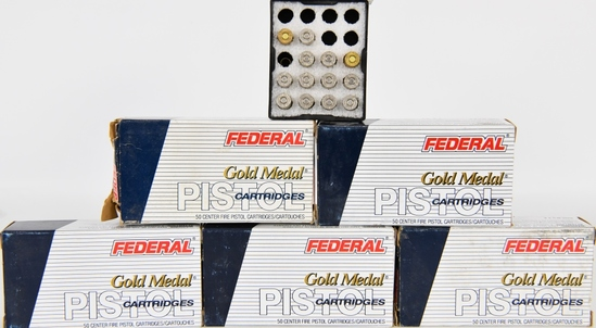 213 RDS OF FEDERAL .356 TSW GOLD MEDAL