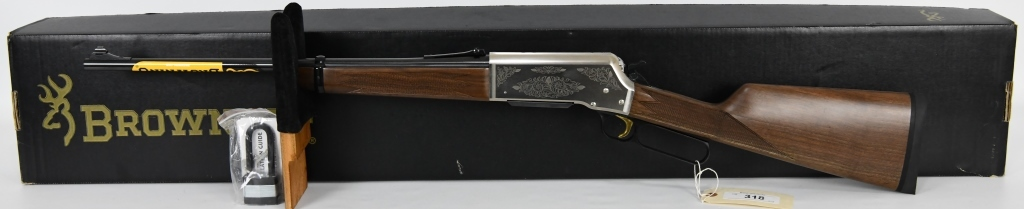 Browning BLR LT Weight '81 Satin Nickel .308