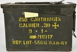 205 RDS OF 30-06 AMMO IN MILITARY AMMO CAN