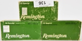 150 RDS OF REMINGTON .38 SPECIAL
