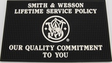 S & W LIFETIME SERVICE POLICY COUNTER MAT