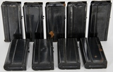 9 various - M1 Carbine 20 rd Mags 1 loaded
