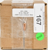 NEW .223 55 gr FMJ-BT 1000 Count Armscor (TIPS)