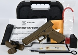Glock 22 Gen 4 Semi auto .40 cal Pistol flat dk ea