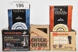89 RDS OF 40 S&W PERSONAL DEFENSE AMMO