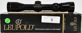 Leupold VARI-X 2.5X8 EER Pistol scope