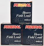 75 RDS OF FEDERAL 12 GA HEAVY FIELD LOAD