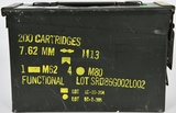 MILITARY AMMO CAN FULL OF 30-06 AMMO