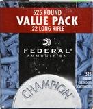 525 RDS OF FEDERAL CHAMPION .22 LR BRICK