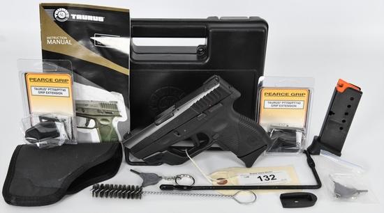 Taurus Slim PT740 .40 S&W W/ Crimson Trace Laser