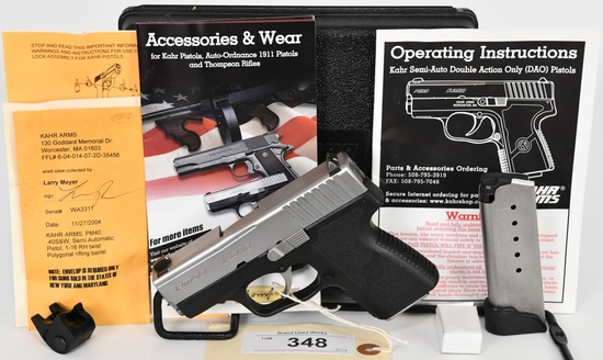 Kahr Arms PM40 Semi Auto Pistol .40 S&W