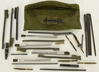 Military Issued OD Green Cleaning Kit Pouch, NSN:4