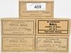 250 RDS OF PISTOL BALL M1911 .45 CAL