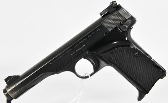 Belgium Browning Model 10 / 71 Semi Auto Pistol