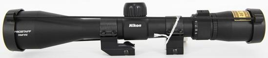 Nikon Prostaff Rimfire 3-9X40 Rifle Scope W/ Rings