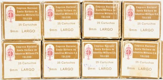 189 Rounds Of 9mm Largo Ammunition