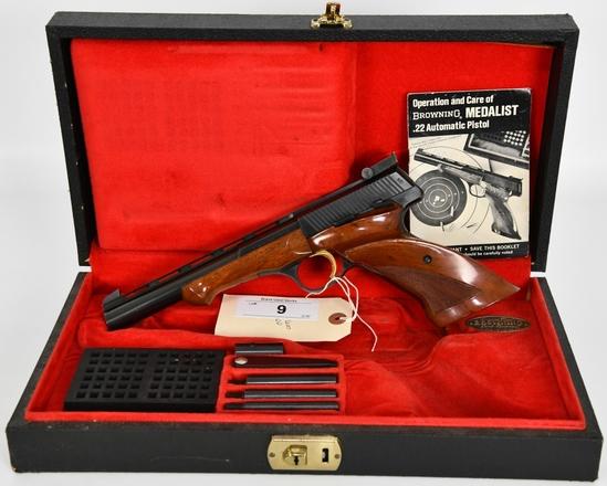 Belgium Browning Medalist Target Pistol