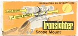 Vintage Ironsighter Scope Mount Model 725 In Box