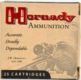 25 Rounds Hornady Custom .32 ACP Ammunition