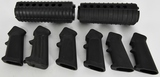Lot of Misc AR -15 Hand guards & 6 Pistol grips