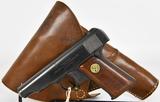Ortgies Semi-Automatic Pistol 7.65 W/ Holster