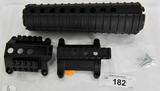 AR15 M4 HANDGUARD ROUND & ROGER TRI RAIL
