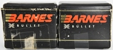100 Count Of Barnes .30 Cal 180 Gr Bullet Tips