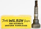 Vintage Wilson Inside Neck Reamer With Box .25 Cal