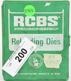RCBS Reloading Die Set For .45 Colt