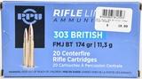 19 Rounds Prvi Partizan Ammunition 303 British